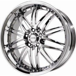 Verde KAOS Chrome 18X8 5-112 Wheel