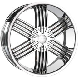 Mazzi KOMBAT Chrome 24X10 6-139.7 Wheel