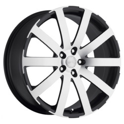 Katana Racing KP1 Black Machined Face 18X8 5-112 Wheel