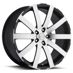 Katana Racing KP1 Matte Black Machined Face 18X8 5-114.3 Wheel