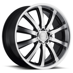 Katana Racing KP2 Matte Black Machined Face Wheel