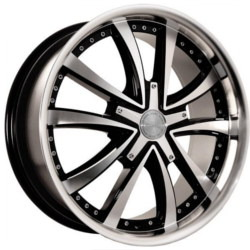 Katana Racing KP3 Black Machined Face Wheel