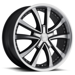 Katana Racing KP3 Matte Black Machined Face Wheel