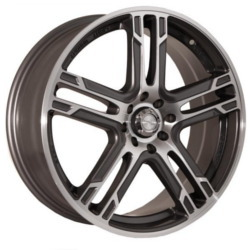Katana Racing KR10 Gunmetal Machined Face 17X7 4-114.3 Wheel