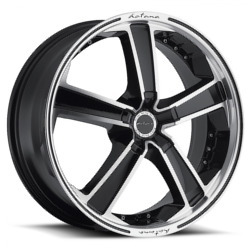 Katana Racing KR12 Gunmetal Machined Lip 18X8 5-114.3 Wheel