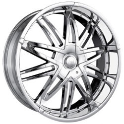 Mazzi KRAZE Chrome 20X9 5-127 Wheel