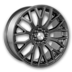 Katana Racing KRM Gunmetal 17X8 5-100 Wheel