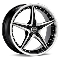 Enkei L-SR Black Machined 20X9 5-110 Wheel