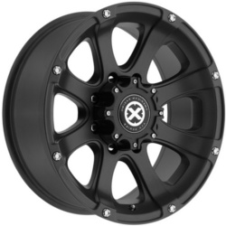 American Racing Atx LEDGE Teflon Black 15X7 5-139.7 Wheel