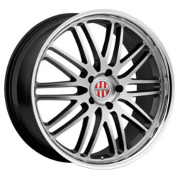 Ace LEMANS Hypsil Mirror Lip 19X11 5-130 Wheel