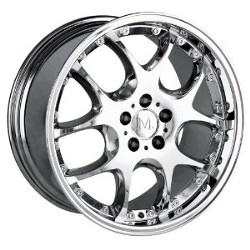 Detroit LEONARDO Chrome 18X9 5-112 Wheel