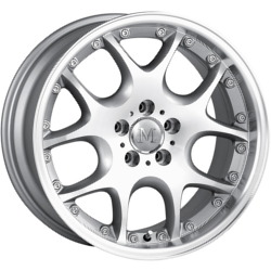 Detroit LEONARDO Hypersilver/Machined Wheel