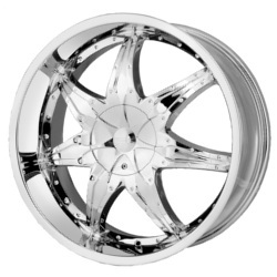DIP LIBRA Chrome 20X9 5-108 Wheel