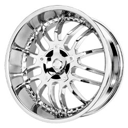 Verde LOCKDOWN Chrome 20X9 5-120 Wheel