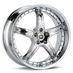 Enkei LS-5 Chrome 18X9 5-114.3 Wheel