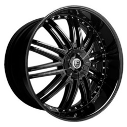 Lexani LX-10 Flat Black Wheel