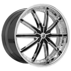 Lexani LX-20 Chrome 22X10 5-112 Wheel