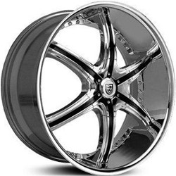 Lexani LX-6 Chrome 24X10 5-112 Wheel
