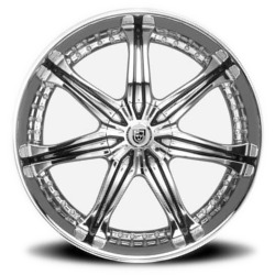 Lexani LX-7 Chrome 20X9 5-112 Wheel