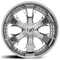 Lexani LX-704 Chrome 22X10 5-112 Wheel