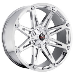 Strada M01 Chrome 18X9 5-112 Wheel