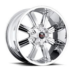 Strada M03 Chrome 20X9 6-135 Wheel