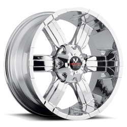 Strada M06 Chrome 20X9 5-127 Wheel