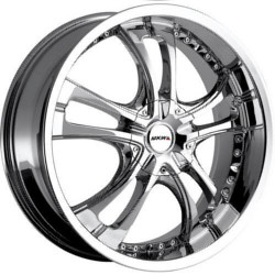 MKW M101 Chrome 18X8 4-100 Wheel