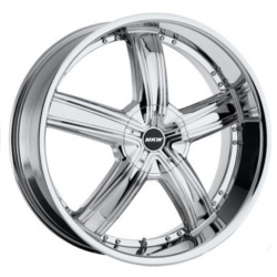 MKW M103 Chrome 26X10 5-135 Wheel