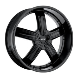 MKW M103 Satin Black 24X10 5-127 Wheel