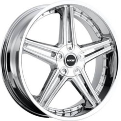 MKW M104 Chrome 22X9 5-112 Wheel