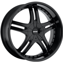 MKW M105 Black 24X10 6-139.7 Wheel