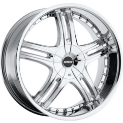 MKW M105 Chrome 18X8 4-114.3 Wheel