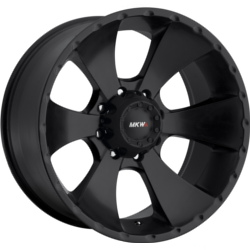 MKW M19 Black 22X11 8-165.1 Wheel