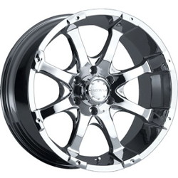 MKW M26 Chrome 20X9 5-120 Wheel
