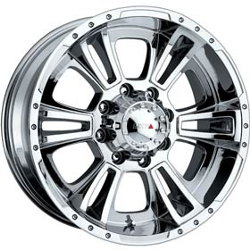 MKW M28 Chrome Wheel