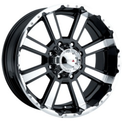 MKW M29 Black 17X9 5-114.3 Wheel