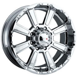 MKW M29 Chrome Wheel