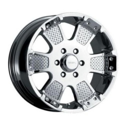 MKW M41 Chrome Wheel