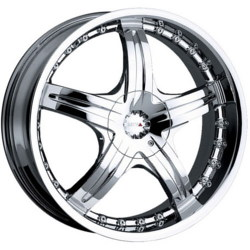 MKW M50 Chrome 19X8 5-112 Wheel