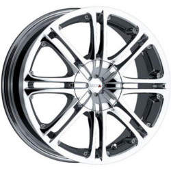 MKW M51 Chrome 16X7 5-100 Wheel
