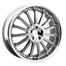 MKW M54 Chrome Wheel