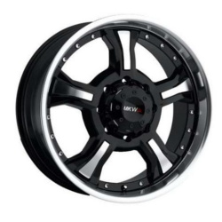 MKW M62 Black 18X9 8-170 Wheel