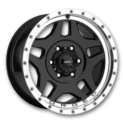 MKW M63 Black 17X9 8-170 Wheel
