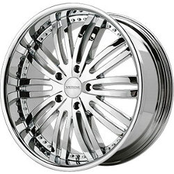 Verde MADONNA Chrome 20X9 5-135 Wheel