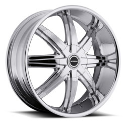 Strada MAGIA Chrome 22X9 5-120.7 Wheel