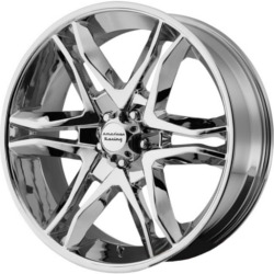 American Racing MAINLINE Chrome 17X8 5-120 Wheel
