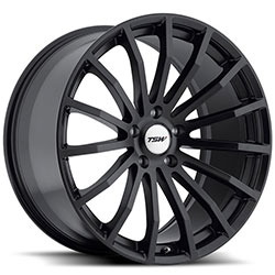 TSW MALLORY Matte Black 20X10 5-120 Wheel