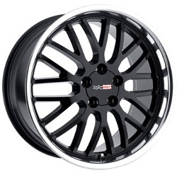 Cray MANTA Black Mirror Lip 17X9 5-120.7 Wheel