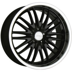 Ace MATRIX Black 19X9 5-114.3 Wheel